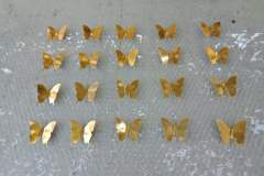 Butterfly Decorative Metal Scaled