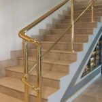 Gold Railing in UAE, Saudi Arabia, Kuwait, Qatar, Bahrain, and Oman